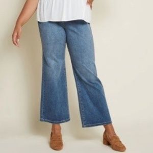 96b3aa604ef ModCloth Jeans - ModCloth Creative Companion Wide-Leg Jeans